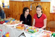 Velikonoční jarmark základní školy 2009