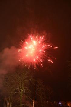 Novoroční ohňostroj (1. ledna 2016)