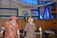 Maškarní ples spojený s pochováváním basy (13.2.2016)
