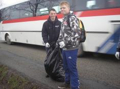 Základní škola - Úklid plastů potřetí